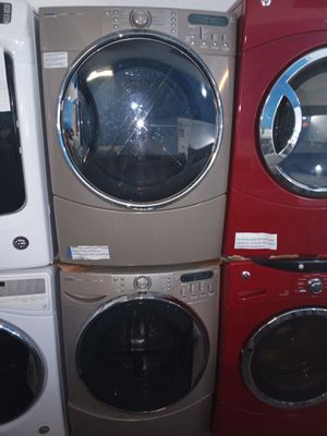 KENMORE FRONT LOAD STEAM WASHER AND DRYER SET WORKING PERFECT W/4 MONTHS WARRANTY for Sale in Baltimore, MD
