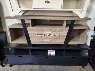 Sierra TV Stand up to 70in TVs, Dark Taupe & Black, SKU# ID151310TC for Sale in Norwalk,  CA