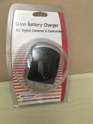 Battery charger for digital cameras & camcorders for Sale in Phoenix, AZ