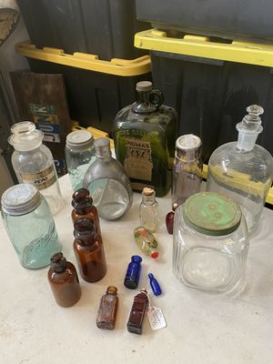 Antique bottles for Sale in Chino, CA