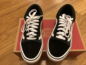 Vans Old School Lite women size 7 Like New for Sale in Schaumburg, IL