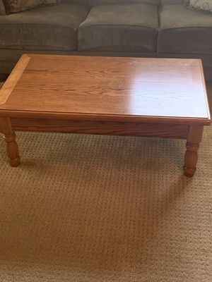Coffee table and three end tables for Sale in Azusa, CA