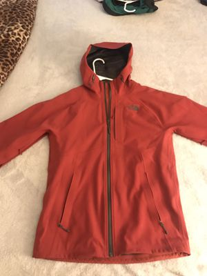 Red North Face Water Resistant Jacket for Sale in Alexandria, VA
