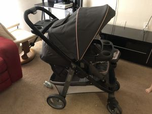 Graco Modes Click Connect Travel System stroller and car seat for Sale in Orlando, FL