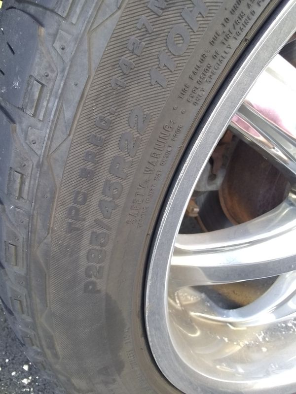 2 tires 100 cash only