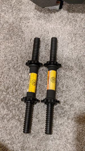 Gold Gym Dumbbell Handles -Pair for Sale in Fresno, CA