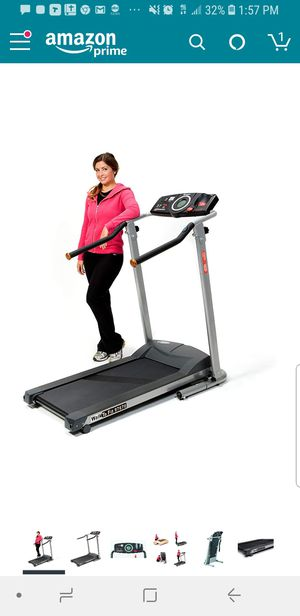 Exerpeutic TF900 high capacity Fitness electric treadmill for Sale in HAINESPRT Township, NJ