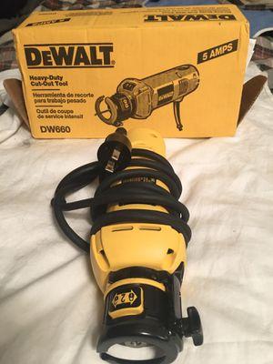 Dewalt / Heavy Duty Rotary Cut Out Tool for Sale in Dana Point, CA