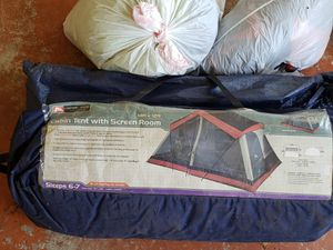 Ozark Trail - out door equipment- Large camping tent w screen and patio. Size 14ft by 12ft for Sale in Miramar, FL