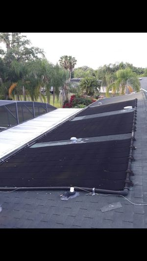 4'×12' SPS Universal Solar Pool Heating panel-inground Swimming Pools.8 pieces $110 for each for Sale in Kissimmee, FL