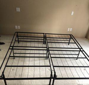 King Sized Platform Bed Frame for Sale in Milwaukie, OR