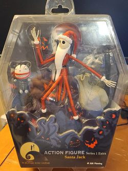 The Nightmare Before Christmas Santa Jack Series 1 Extra for Sale in Redlands,  CA