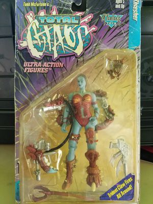 1996 Mcfarlane Toys Total Chaos Thresher Ultra Action Figure for Sale in Hawthorne, CA