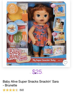 Baby alive doll for Sale in Manteca, CA