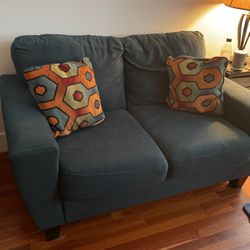 Fun Blue Loveseat for Sale in Brooklyn,  NY