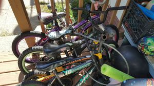 Kids bikes different sizes for Sale in Revere, MA