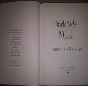 Dark Side of the Moon by Sherrilyn Kenyon for Sale in Lowell, MA