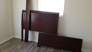 Full bed frame for Sale in St. Petersburg, FL