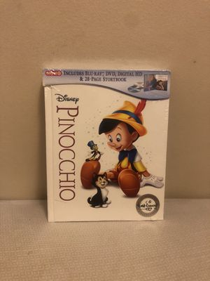 Disney Pinocchio (Bluray/DVD) Digibook/Storybook for Sale in Brooklyn, NY