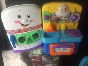 Kids fridge and stove toys for Sale in Compton, CA