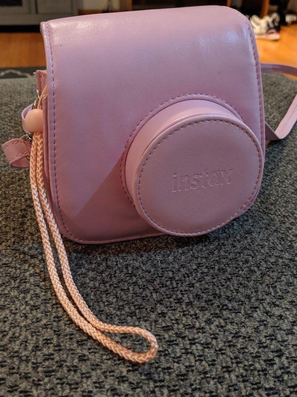 Fujifilm Instax Mini 8 - Polaroid Instant Film Camera Pink (With Pink Case)