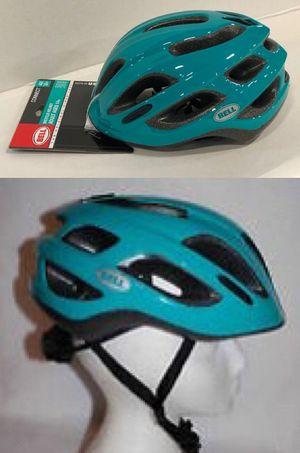 New Emerald Green Sports Quest Adjustable Vented Unisex Men Women Adult Bike Helmet Ages 14 plus for Sale in Pico Rivera, CA