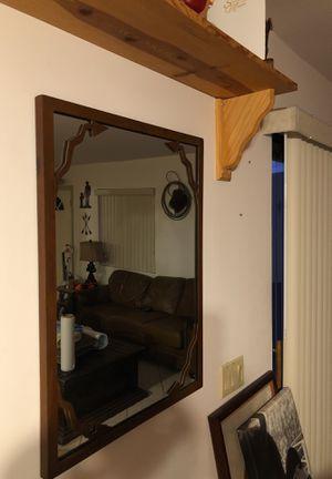 "Heavy duty decorative Western mirror 22""X 30"" for Sale in Apache Junction, AZ"