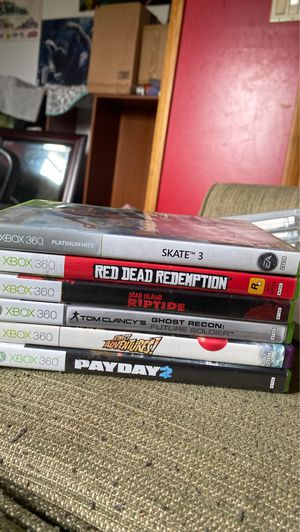 6 Xbox 360 games for Sale in CAPE MAY CH, NJ