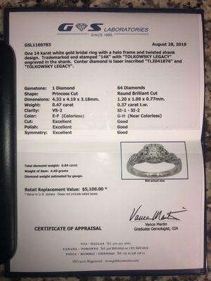 Diamond Ring for Sale in Valparaiso, FL