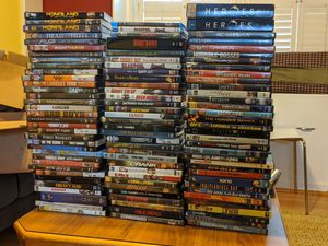 Many movies, some blue ray and tv series! for Sale in Moneta, VA