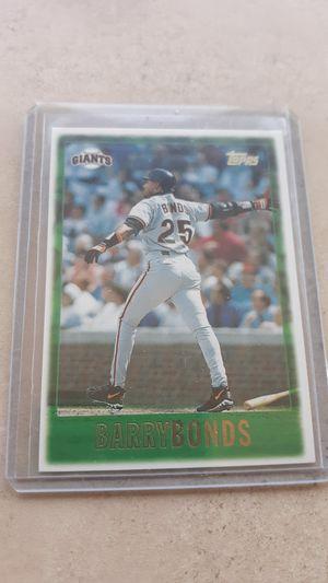 Barry Bonds Card for Sale in Deer Creek, IL