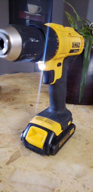 dewalt 20v max drill no. battery for Sale in Fontana, CA