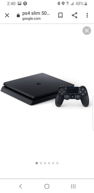PS4 slim 500gb with extended storage for Sale in Phoenix, AZ