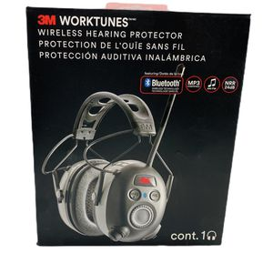 3m Pro Work Tunes Wireless Headphones AM FM Radio Hearing Protector Bluetooth for Sale in Tampa, FL