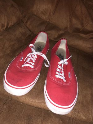 Red and white vans for Sale in Turlock, CA