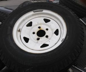 "14"" trailer rims and tires for Sale in Austin, TX"