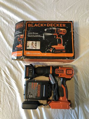 Black & Decker Drill 20vMax for Sale in Armstrong, IA