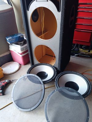 "Two 15"" subs and box for Sale in Avondale, AZ"