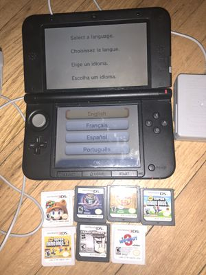 Nintendo 3ds xl with 7 games for Sale in Jeannette, PA