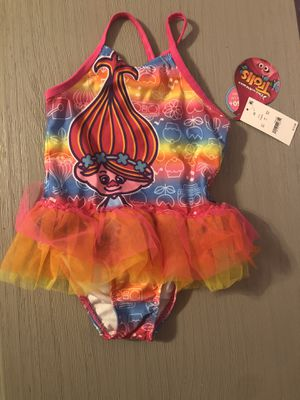 Trolls Poppy 3T Bathing Suit (NWT) for Sale in Lauderhill, FL