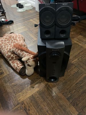 Sony speakers and subwoofer for Sale in Brooklyn, NY