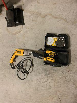 Dewalt Drill hammer and sander for Sale in Lancaster, SC