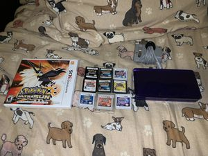 Nintendo 3DS Console with Pokémon Games 3/26 for Sale in Dallas, TX