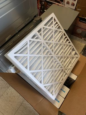 "Pleated air filter high capacity 20"" x 20"" x 4"" — new!! for Sale in Sacramento, CA"