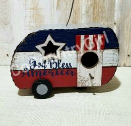 "Rustic ""God Bless America"" Birdhouse for Sale in Delta,  CO"