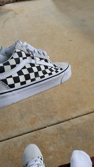 Checkerboard vans for Sale in Bonaire, GA