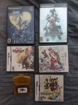 Lot of Six Kingdom Hearts Video Games (GBA, DS, 3DS, PS2) for Sale in Tigard, OR