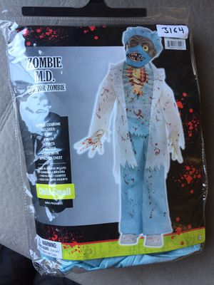 Zombie dr costume for Sale in San Jose, CA