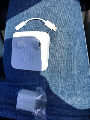 Apple accessory adapter wall headphone for Sale in Jamul, CA