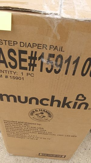 Munchkin diaper pail for Sale in Pittsburgh, PA